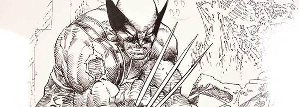 Mike Deodato - Wolverine Original Cover Art