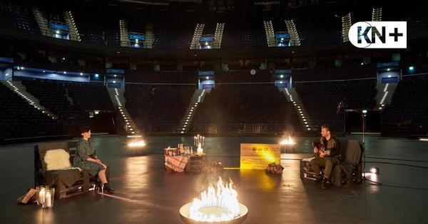 Sasha singt nur für einen Fan in leerer Hamburger Arena