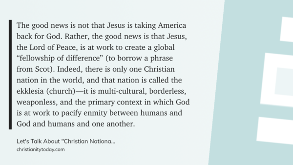 "From ""Let's Talk About Christian Nationalism"" by DREW STRAIT"