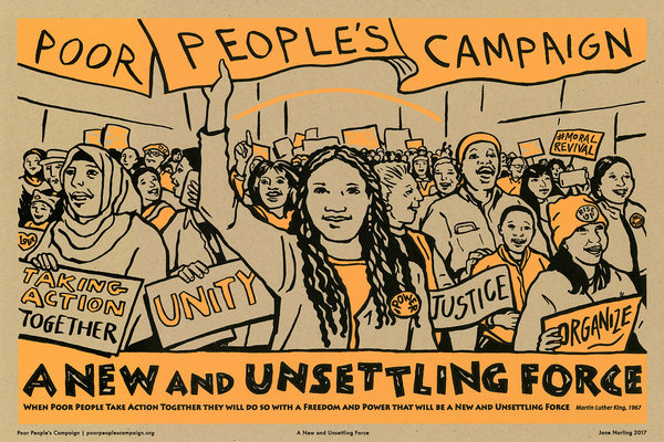 Poor People's Campaign: A New And Unsettling Force