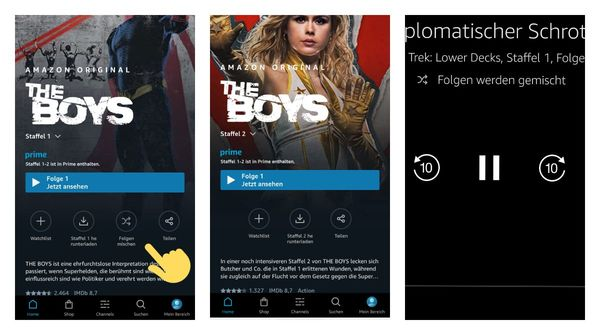 Now you can shuffle episodes on Amazon Prime Video app for Android