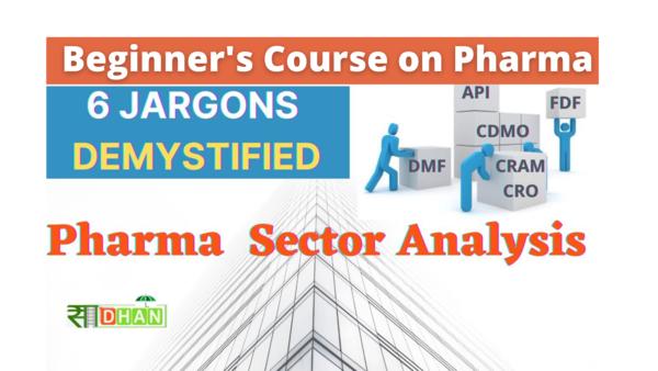Building Blocks of Pharma Sector
