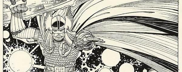 Walt Simonson - Thor Original Comic Art