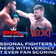 PFL Partners With Verdict MMA For First-Ever Fan Scoring App