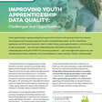 Improving Youth Apprenticeship Data Quality: Challenges and Opportunities | Advance CTE