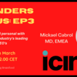 Founders Focus - Ep3 - Up close & personal with Mickael Cabrol, MD EMEA at iCIMS