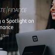 Shining a Spotlight on: SME Finance