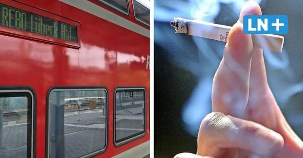Schwarzfahrer raucht im Regionalexpress auf Toilette