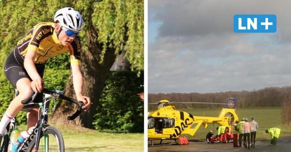So erlebte Radsport-Talent Lennart Matthusen den Unfall bei Linau
