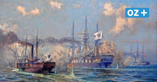 Erstes Seegefecht der preußischen Flotte 1864 vor Rügen gegen Dänemark