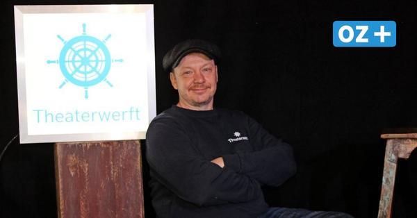 Ein Jahr Theaterwerft Greifswald: Intendant ist wild entschlossen