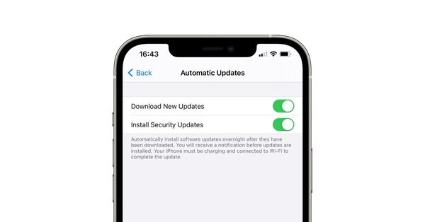 iOS security fixes could soon be delivered separately from other updates, beta code suggests