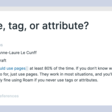 When to use pages, tags, or attributes in Roam Research? - Ness Labs