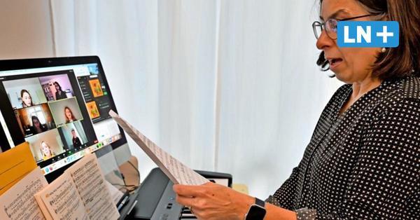 Singen per Zoom: So funktionieren die virtuellen Chorproben in Malente