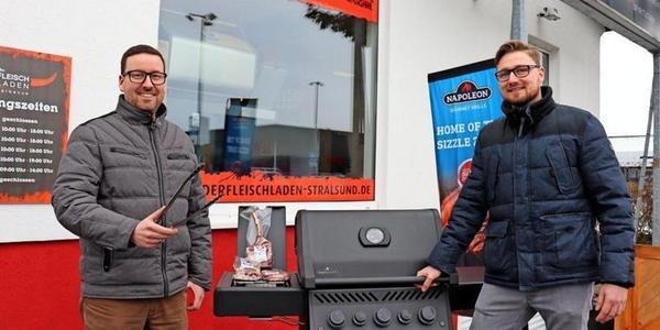 Stralsund im Lockdown: Fleischladen-Gründer setzen auf Grillsaison