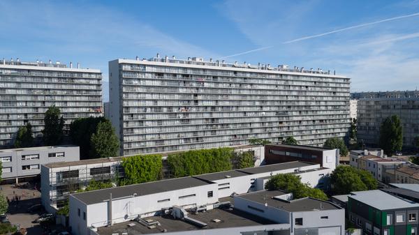 Das Transformationsprojekt in Bordeaux, insgesamt 530 Einheiten (Kooperation mit Frédéric Druot und Christophe Hutin). Foto: Philippe Ruault