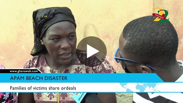 Apam Beach disaster:  Devastated mothers share their frustrations