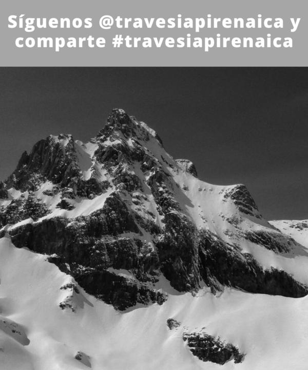 📸: Sergio R /  @sergiorpmp (IG) // Al Aspe por su canal norte. #travesiapirenaica //