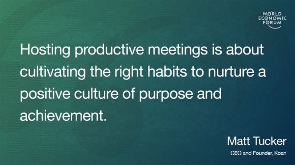 How to make sure your meetings are an effective use of time