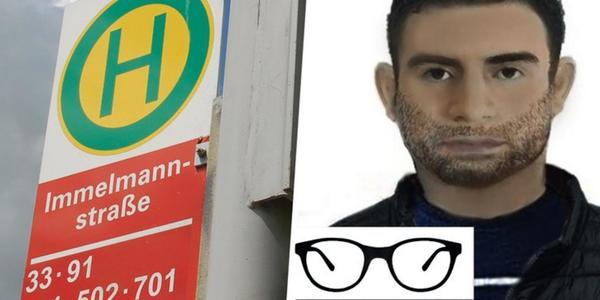 1. Versuchte Vergewaltigung in Kiel-Holtenau: Polizei sucht Mann mit Phantombild