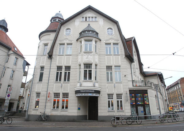 Theaterhaus des Theaters der Jungen Welt. Foto: André Kempner