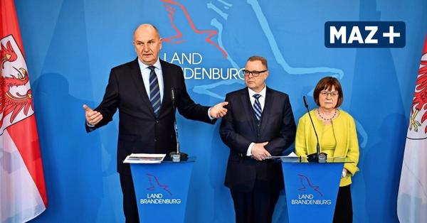 Beben in Brandenburgs Koalition: Machtkampf zwischen Woidke und Nonnemacher