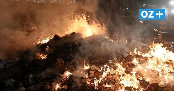 Grimmen: Feuerwehr verhindert Katastrophe am Aldi-Markt