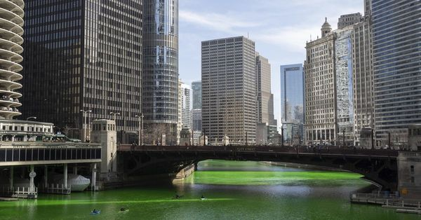 Charming as that green river on St. Pat's Day may be, Chicago should be environmentally smarter