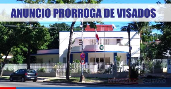 Embajada de Panamá en Cuba informa sobre prórroga de visados vencidos