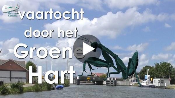 LEIMUIDEN - Een vaartocht met geschiedkundige weetjes langs de route tussen Bilderdam en het Braassemermeer (video)