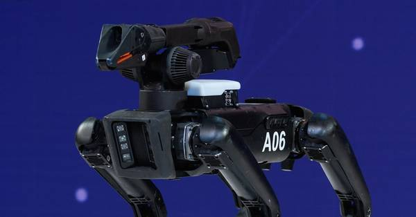 A New York Lawmaker Wants to Ban Police Use of Armed Robots
