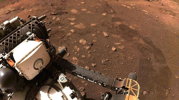"""""""Perseverance"""": So klingt es, wenn ein Rover über den Mars rollt"""