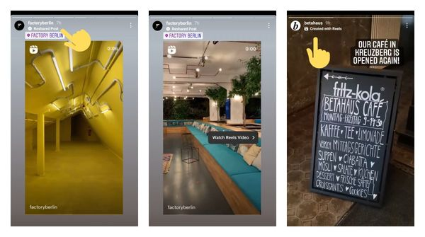 Instagram marks reshared posts in stories with a new label for some users