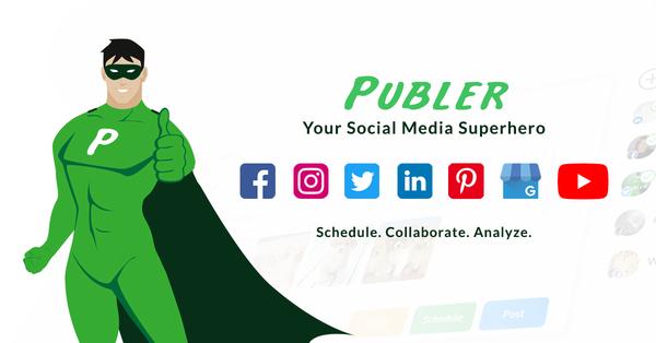 Publer - Your Social Media Superhero