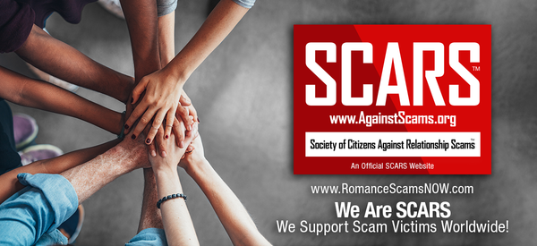 SCARS Romance Scams Education & Support Website – Search for Romance Scammers – Search For Nigerian Scammers – Find Ghana Scammers – Learn about Online Scams – Scam Victim Support Worldwide