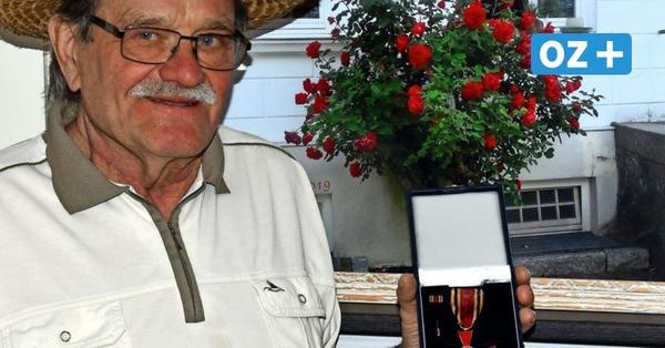 Bundesverdienstkreuz für Rügener: Er machte Putbus zur Rosen-Residenz