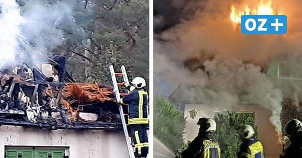 Drei Feuer in zwei Wochen: Ist ein Brandstifter auf Usedom unterwegs?