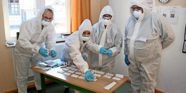 Testzentrum Bansin: Schon über 4000 Coronatests durchgeführt