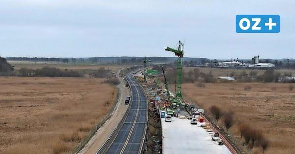 Sanierungsarbeiten auf A20 begonnen – Autobahn-Baustelle bis Ende September