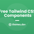 Our best Free Tailwind CSS Components