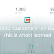"""I have 1000 """"customers"""" on Gumroad – This is what I learned"""