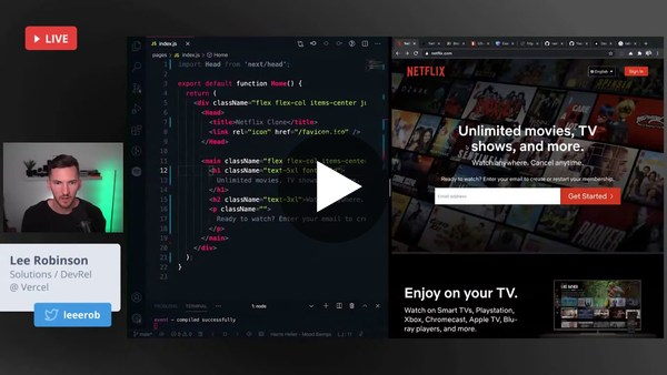 Building a Netflix Clone with Next.js, Tailwind CSS, and Next Auth