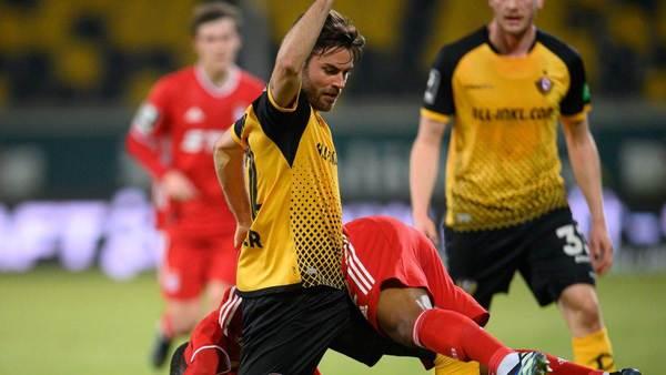 Ohne Niklas Kreuzer: Dynamo Dresden gastiert beim TSV 1860 München