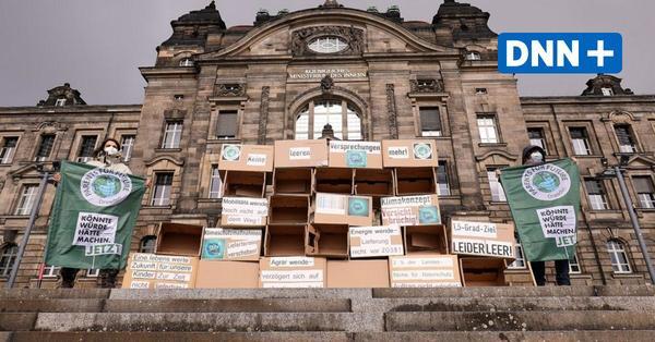 """""""Fridays for Future"""" demonstrieren coronakonform in Dresden"""