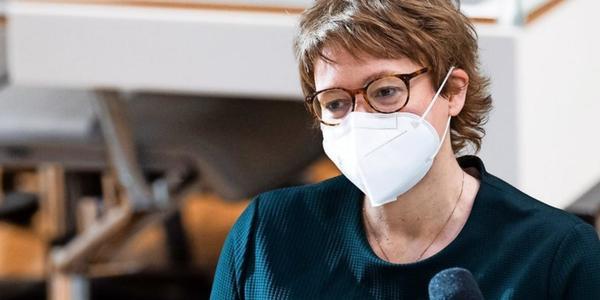 Gesundheitsministerin Daniela Behrens in Corona-Quarantäne
