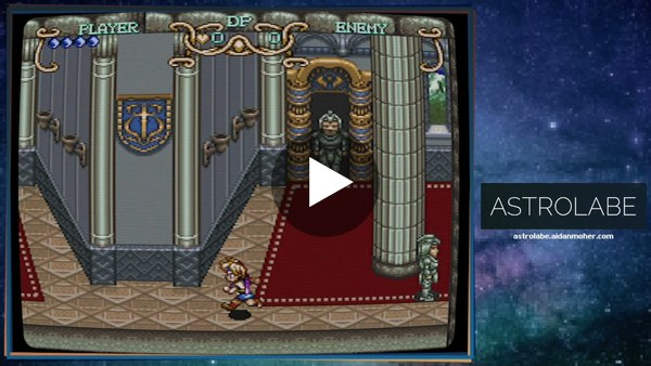 Playing Illusion of Gaia (Super Nintendo) for Astrolabe #14's LTTP Column