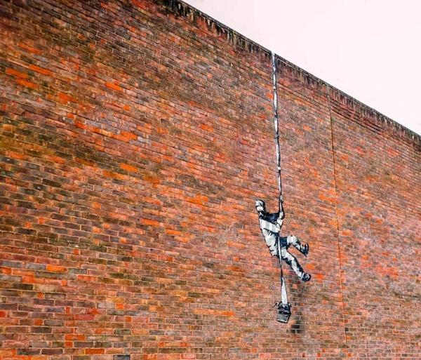 Nieuwe Banksy beklad & Meer