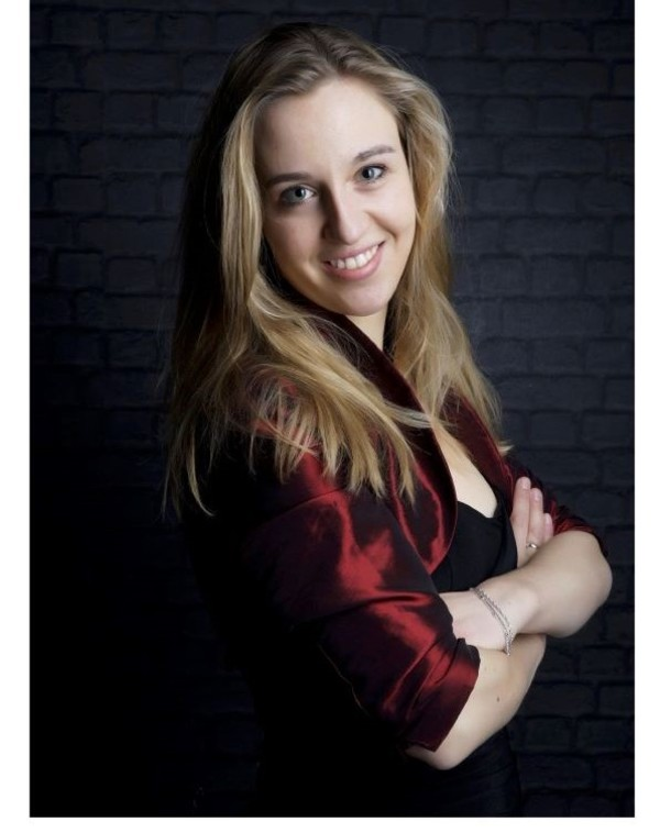 Sopraan Agnes van Laar werkt mee aan de Marcus Cantate. Foto Bach Twente.