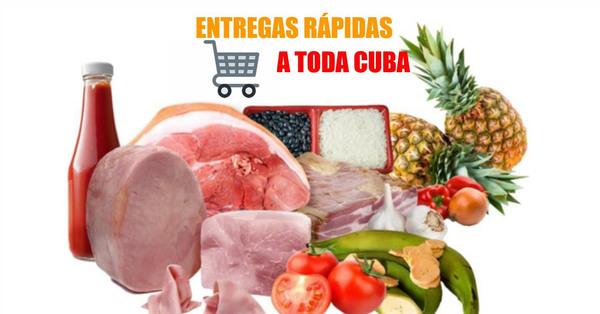 Aquí puedes comprar combos de entrega rápida para tu familia en Cuba