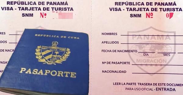 Oficial: Panamá elimina tarjeta de turismo a cubanos por decreto